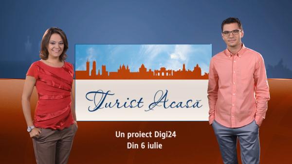 """""""Turist acasă"""", aici, în România! Caravana Digi24 pornește la drum"""