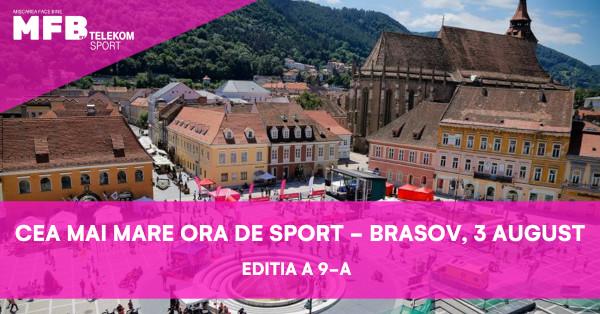 """Telekom Romania anunță următoarele evenimente sportive din cadrul celei de-a IX-a ediții a campaniei """"Mișcarea face bine"""""""