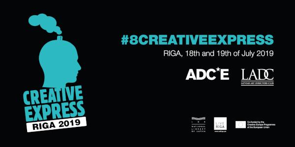 Raluca Circo (McCann Worldgroup România) şi Diana Mitrică (Ogilvy România) la Creative Express Riga 2019
