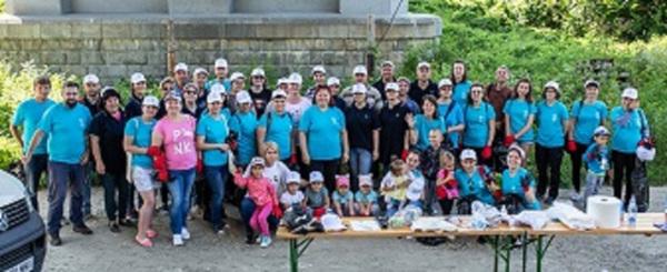 Asociația MaiMultVerde a sărbătorit Ziua Dunării printr-o o acțiune de igienizare la Giurgiu