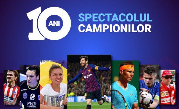 Digi Sport, 10 ani de emisiuni și transmisiuni despre sportul de nota 10
