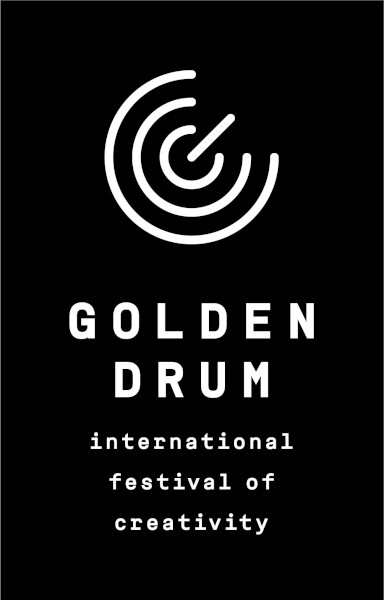 Golden Drum logo vertical