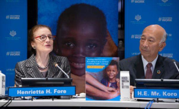 În 2018, 20 de milioane de copii din lume nu au beneficiat de vaccinurile care să îi protejeze împotriva rujeolei, difteriei şi tetanosului