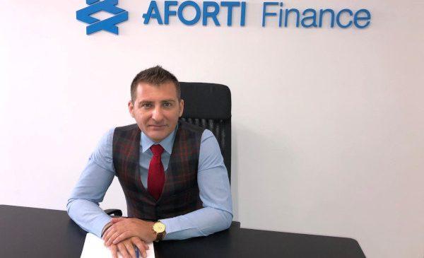 Grupul Aforti îl numește pe Ionuț Badiu Director General al Aforti Finance IFN