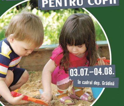 Locuri de joacă pentru copii – tema lunii iulie la HORNBACH