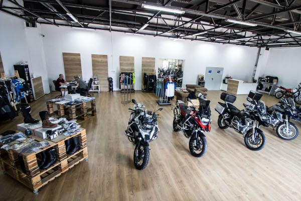Motorcycle Hub, Bucharest, Romania