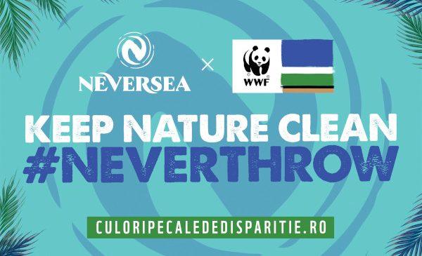 Neversea, primul brand ambasador al campaniei Culori pe cale de dispariție