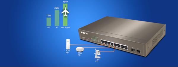 Tenda lansează în România două switchuri din gama de vârf, pentru clienți companii mici și mijlocii