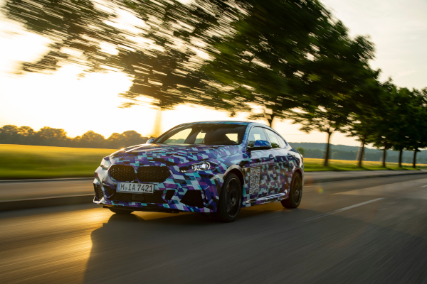 Testing in the north of Munich – The all-new BMW 2 Series Gran Coupe