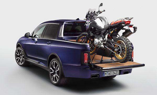 Imaginea luxului combinată cu calităţile unei utilitare: BMW X7 Pick-up unicat