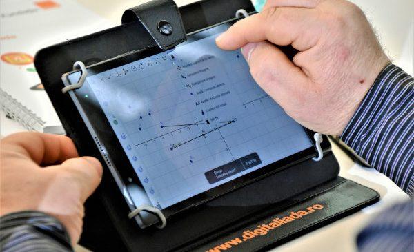 Primul set de tutoriale video Digitaliada pentru predarea matematicii cu instrumente digitale