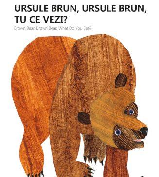 """Nou la Editura Cartea Copiilor: """"Ursule brun, ursule brun, tu ce vezi?"""", o carte clasică care inspiră educatorii din lumea întreagă"""
