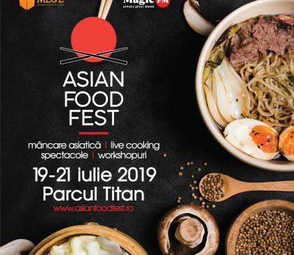 Asian Food Fest, o călătorie culinară în jurul Asiei