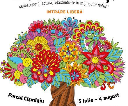 Începe Copacul cu Cărți în Parcul Cișmigiu