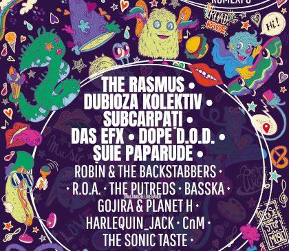 The Rasmus, Dubioza Kolektiv, Das EFX și Dope D.O.D. la Creative Fest 2019