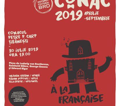 Conacul Petre P. Carp celebrat cu un nou concert SoNoRo Conac
