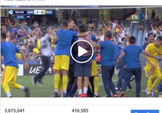 Meciurile U21 – milioane de fani la TVR 1 şi online