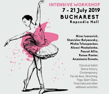 Profesori și coregrafi din Rusia, SUA și Franța, participă în perioada 7-21 iulie, la a patra ediție a evenimentului REVOLVE DANCE FESTIVAL din capitală