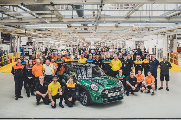 10 Millionth MINI revealed at MINI Plant Oxford