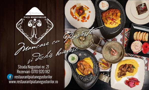 23 August la Restaurantul Negustorilor