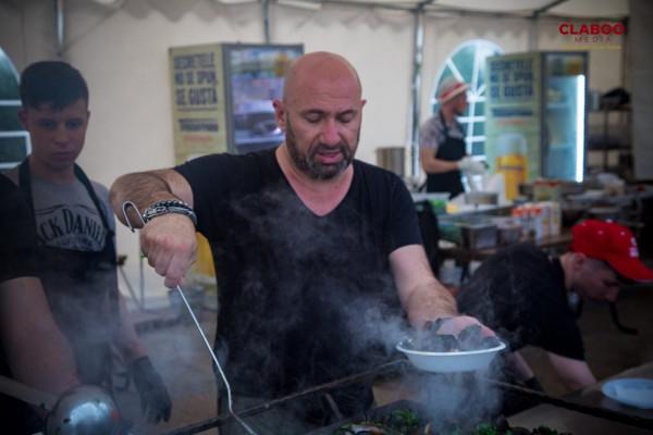 Chef Scarlatescu la Festivalul Scoicilor