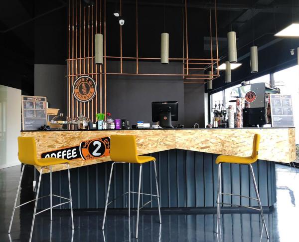 Coffee 2 Go - cafenea in parteneriat cu LEROY MERLIN