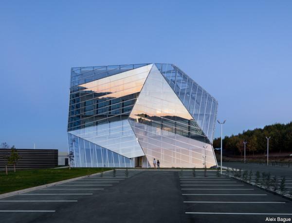 E8 Building. Vitoria-Gasteiz Spain. Architect Coll-Barreu Arquitectos