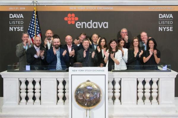 Endava 1 an de la listarea pe Bursa din New York