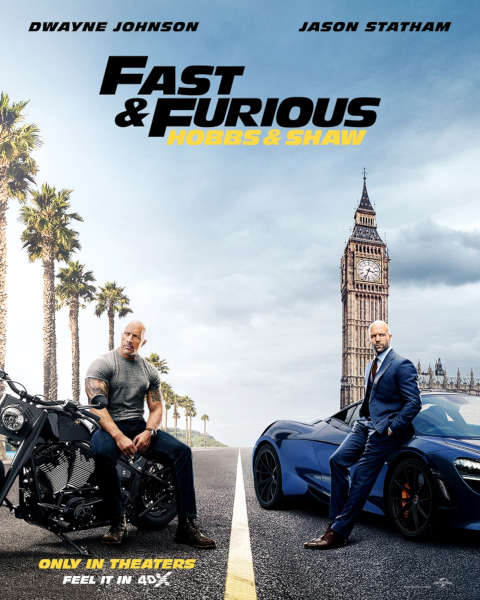 Fast & Furious Hobbs & Shaw poster 4DX