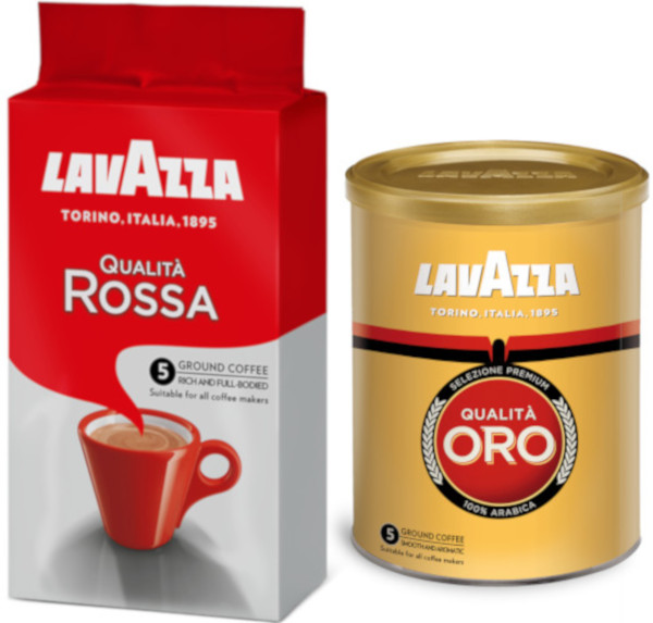 Lavazza Qualita Rossa, Lavazza Qualita Oro