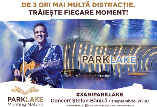 ParkLake, concert Stefan Banica