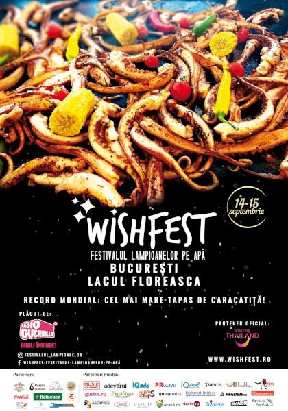 Record mondial de live cooking la WishFest