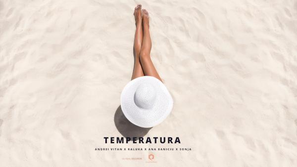 """Andrei Vitan, Raluka, Ana Baniciu și SONJA lansează clipul piesei """"Temperatura"""""""