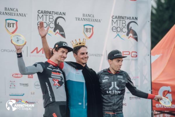 Top 3 Men Elite Carpathian MTB epic 2019 awards