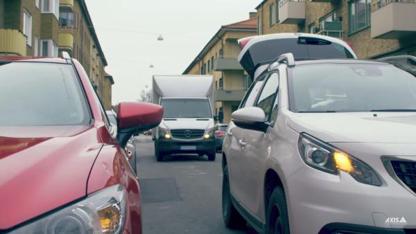 AXIS Parking Violation Detection – Îmbunătățirea traficului și a siguranței în orașe