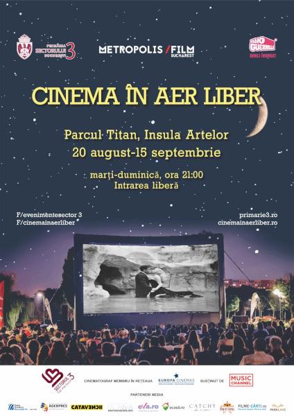 afis Cinema în Aer Liber 7