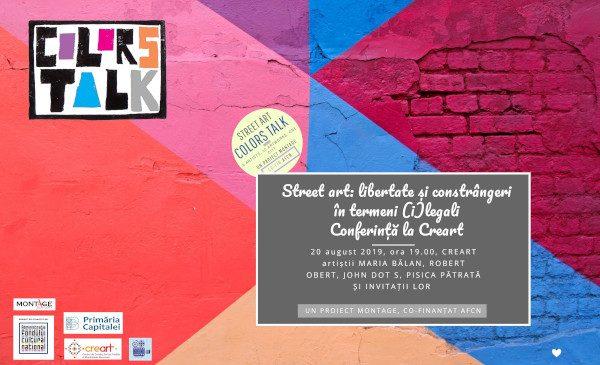 ColorsTalk aduce artiștii stradali în fața publicului