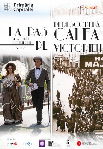 afis La Pas pe Calea Victoriei 2019