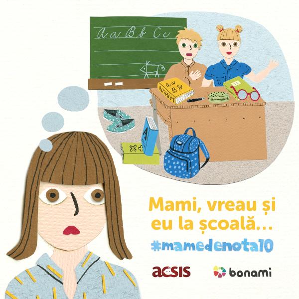 #mamedenota10, Bonami si ACSIS
