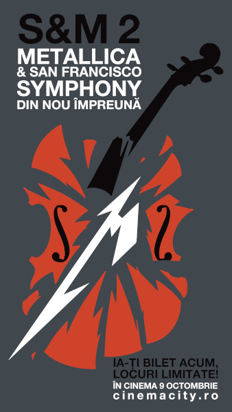 poster Metallica S&M2, Cinema City