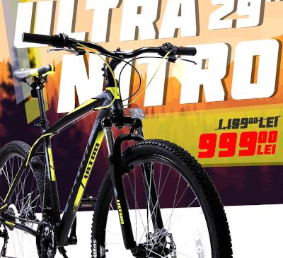 O bicicleta MTB de la Click4sport.ro