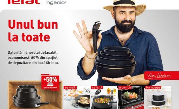 Versatilitate și ergonomie cu Tefal Ingenio