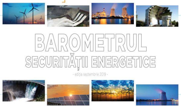 """Prima ediție a """"Barometrului Securității Energetice"""" va fi lansată vineri, 20 septembrie 2019"""