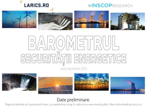 Barometrul securitatii energetice. Raport date preliminare