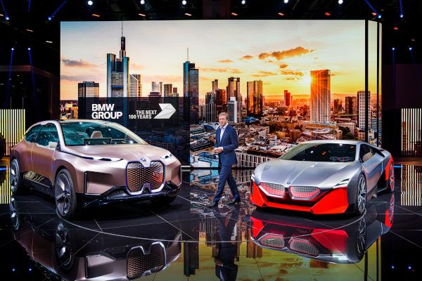 CEO Oliver Zipse at IAA Frankfurt International Motor Show 2019