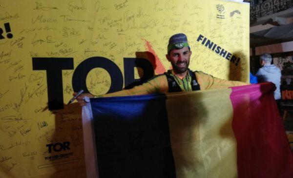 După ce a escaladat cel mai înalt vârf din Italia, un român a parcurs 365km pe munte, la Tor des Géants