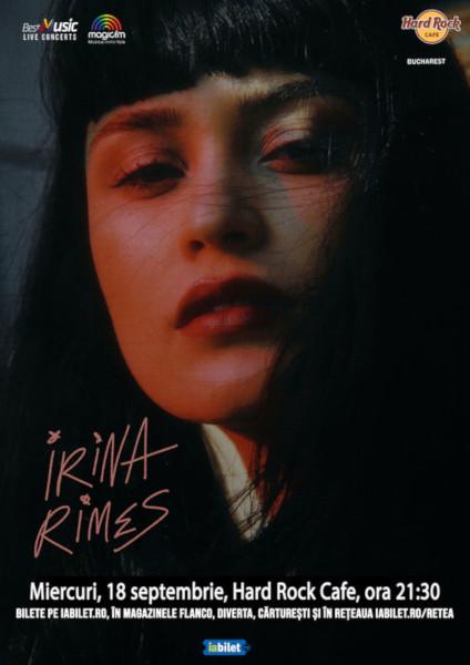 Concert Irina Rimes 18 septembrie