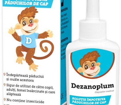 Dezanoplum® – arma secretă, eficientă împotriva păduchilor