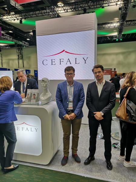 Dr. Bogdan Pană la Dublin, alături de echipa Cefaly