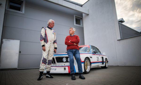 Întâlnirea legendelor: Jochen Neerpasch, creatorul BMW Motorsport, a pilotat mai multe modele emblematice BMW pe Transfăgărăşan